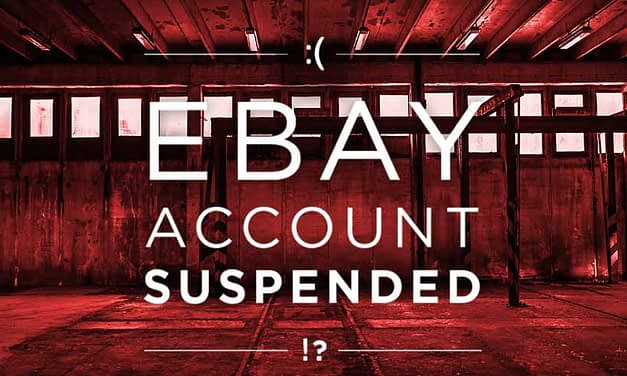 How To Prepare an eBay Account For the Unexpected Suspension