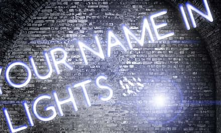 Get Your Name in Lights! Your Article Here.