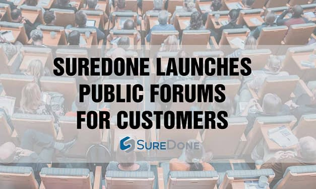 Announcing: SureDone Public Forums!